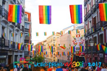 World Pride Madrid 2017 Chueca