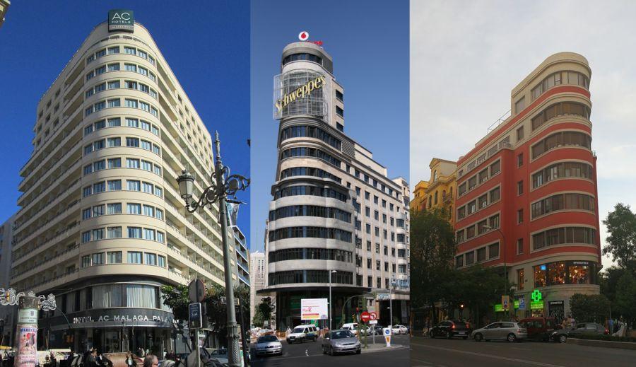 Aerodinámico Neo Art Decó en Málaga