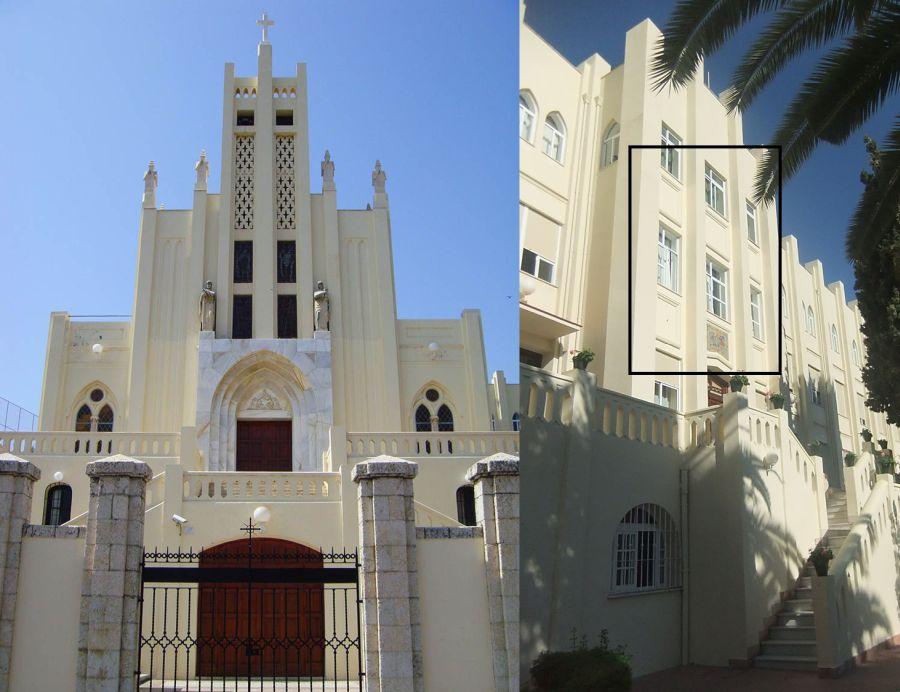 Art Decó en Málaga Colegio de La Asunción