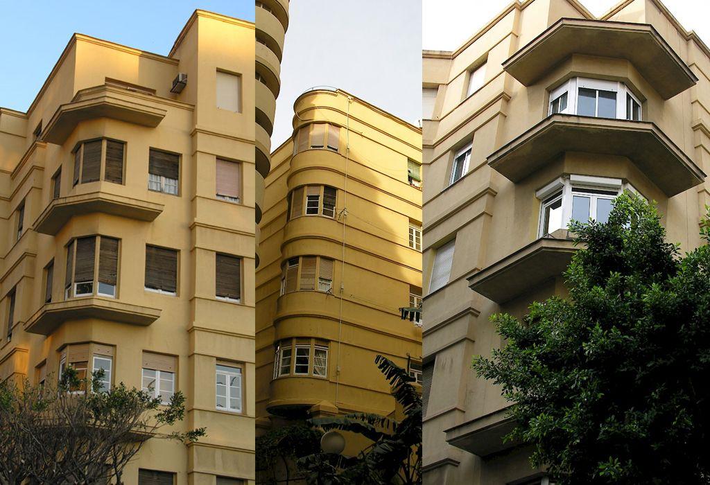 Art Decó en Málaga Edificio Desfile de Amor