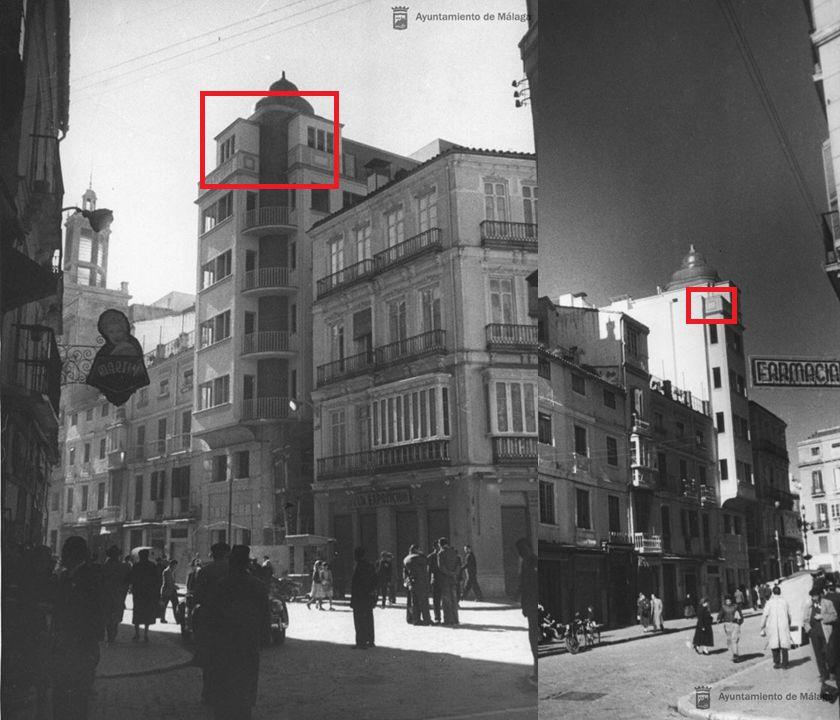 Art Decó en Málaga Edificio La Campana