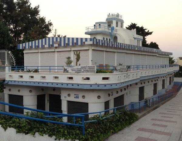 Art Decó en Málaga Streamline Moderne