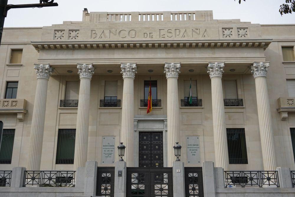 Banco de España, Neoclásico de toques Art Decó en Málaga