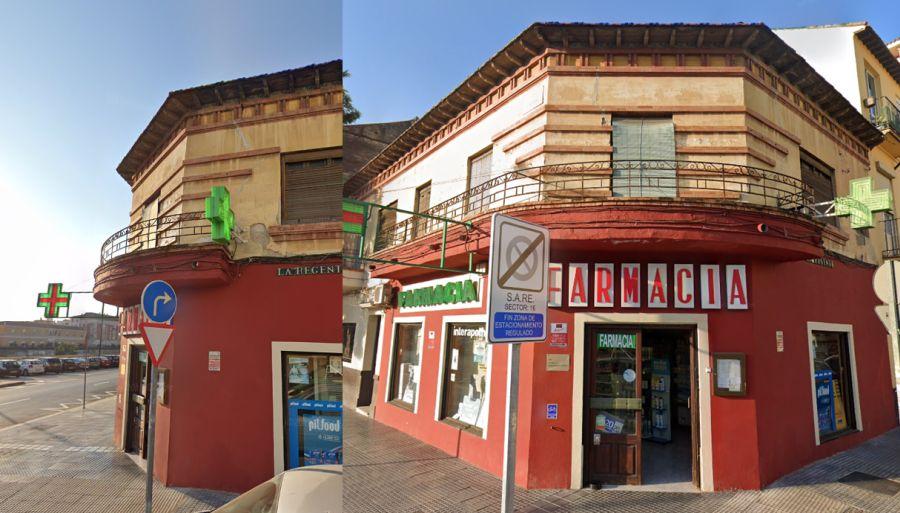 Desaparecido Art Decó en Málaga