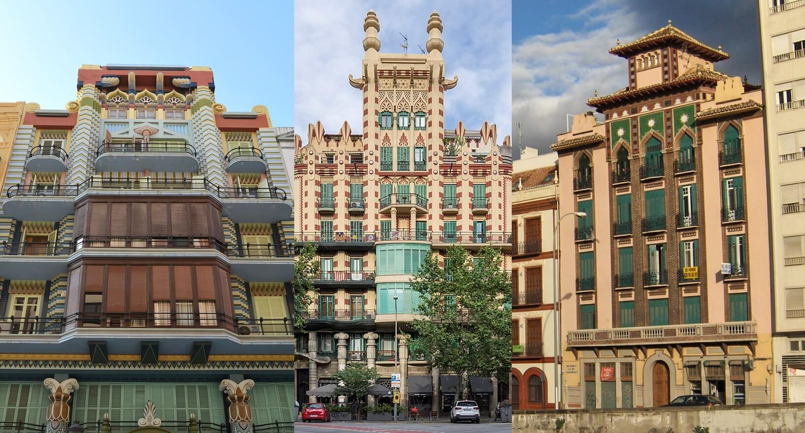 Art Decó en Málaga Regionalismo Decó Valencia Barcelona