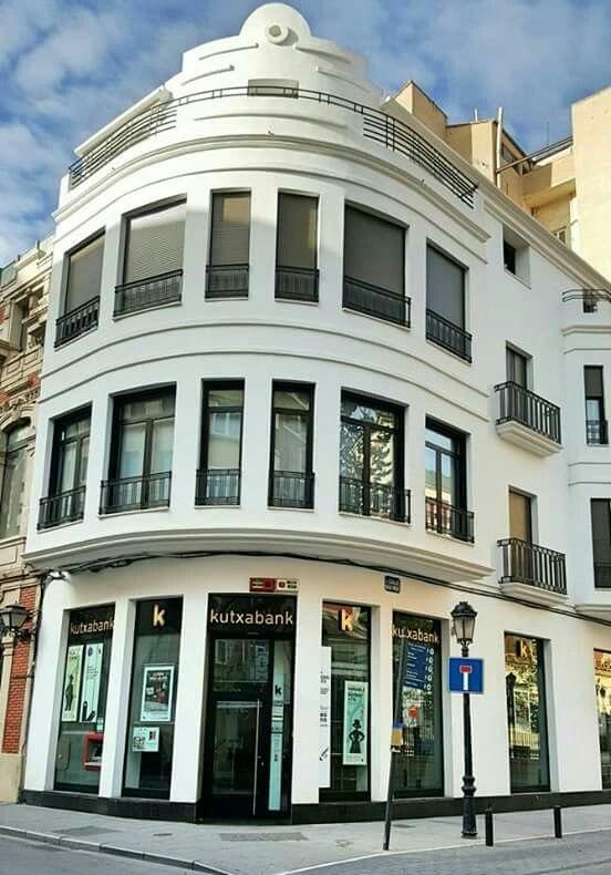 Albacete Art Decó racionalista en la calle Isaac Peral