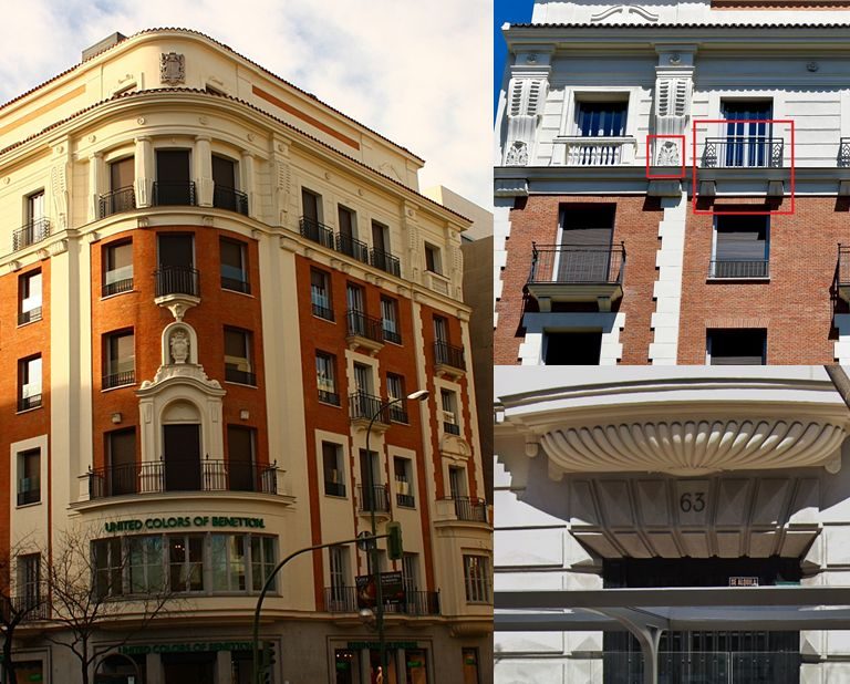 Art Decó en Madrid pre arquitectura franquista