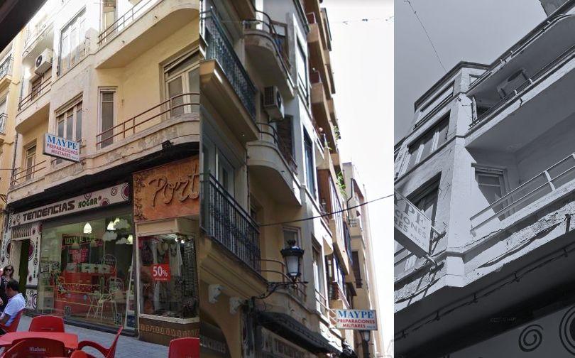Art Decó racionalista en Albacete