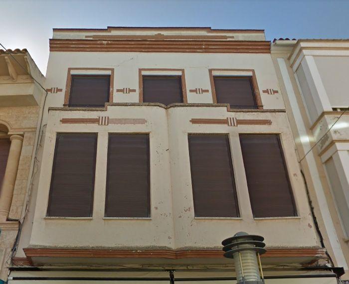 Calle Emilio Castelar, 44 Alcázar de San Juan, Streamline y Zigzag Moderne Castilla-La Mancha