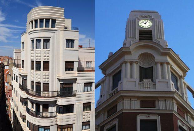 Edificios Art Decó de Castilla-La Mancha en Albacete y Talavera de la Reina