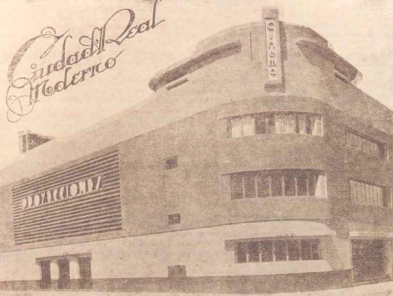 Antiguo Cinema Proyecciones de Ciudad Real