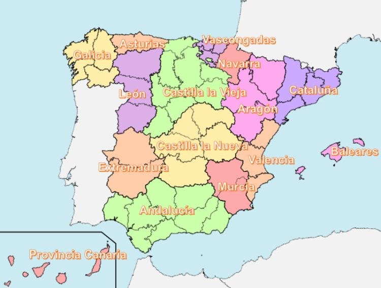 Oirgen de las Comunidades Autónomas Javier de Burgos