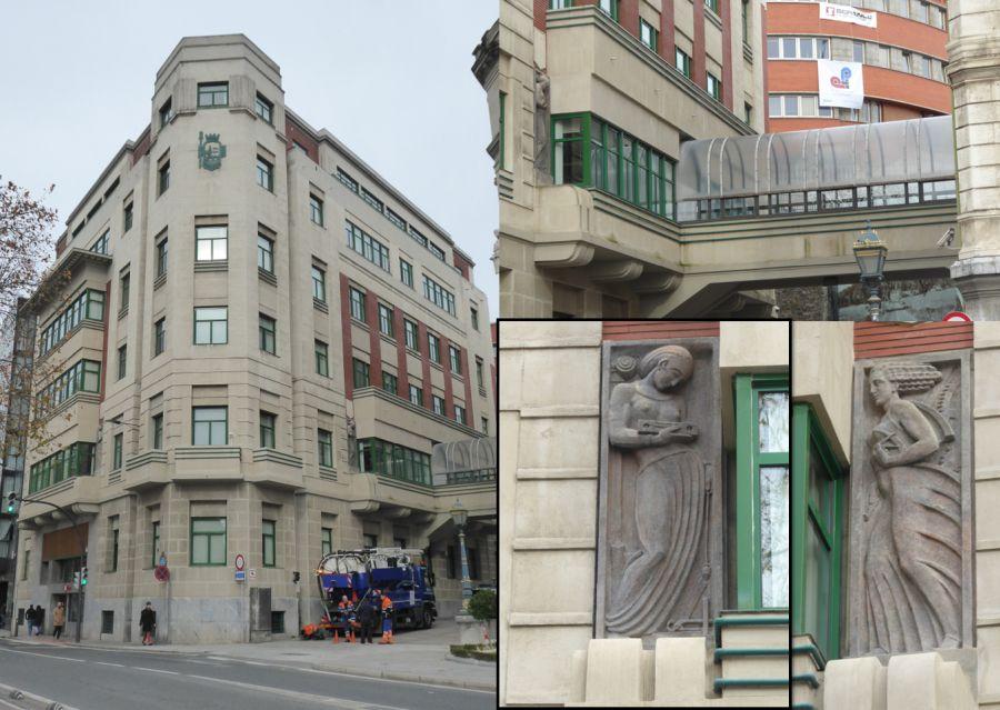 Ampliación Ayuntamiento de Bilbao Art Decó