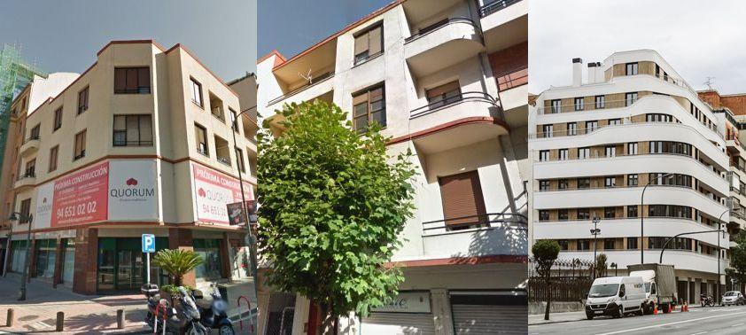 Antiguo Autonomía, 48 de Bilbao versus actual Manuel Allende, 25