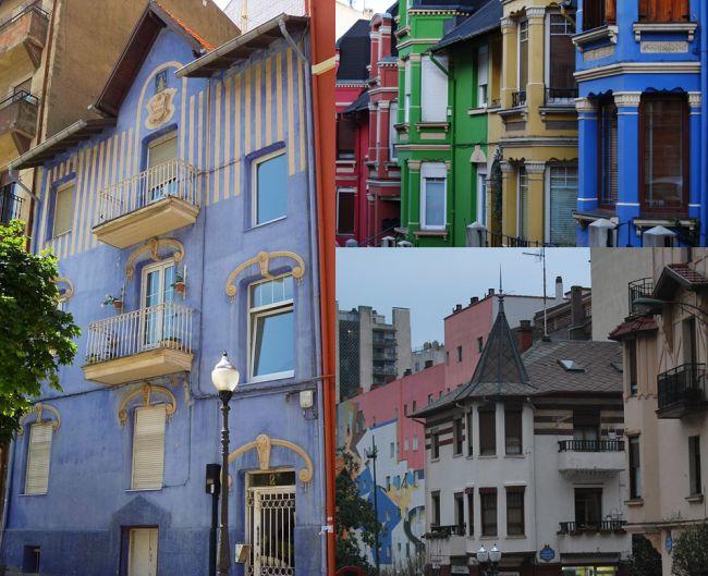 Arquitectura del Barrio de Irala en Bilbao