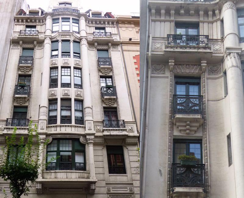 Bilbao Art Decó Zigzag Moderne en Ercilla 22