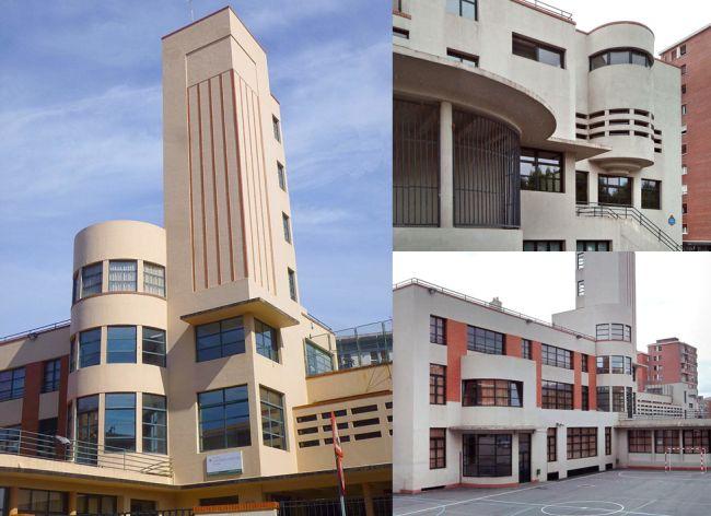 Colegio Luis Briñas del Bilbao Art Decó