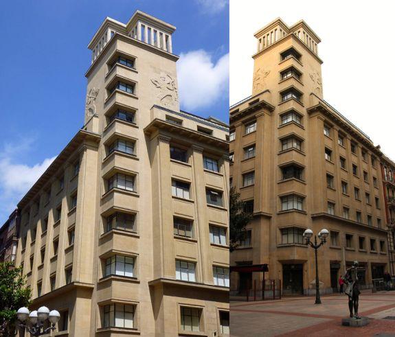 Diputación, 8, tardío Bilbao Art Decó