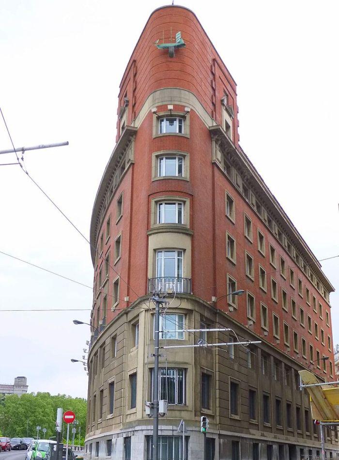 Edificio Aznar plaza Venezuela 2, 1948