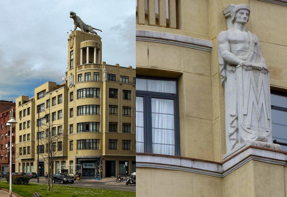 Edificio El Tigre, pieza monumental del Bilbao Art Decó