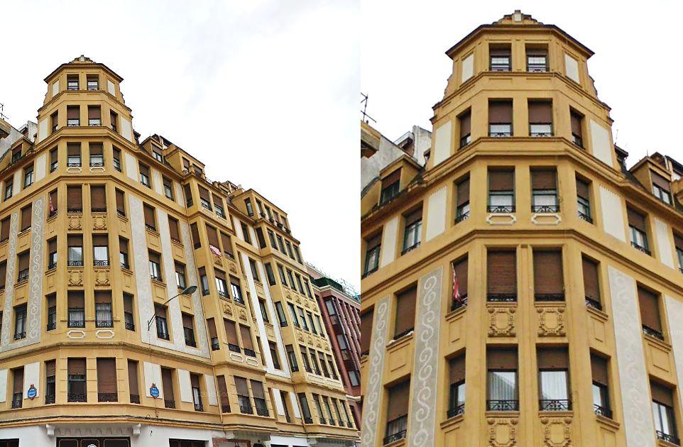 Egaña 11, Bilbao Art Decó Zigzag Moderne