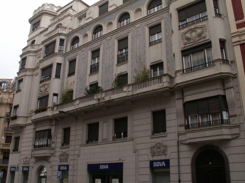 Ercilla 16, Bilbao Art Decó Zigzag Moderne