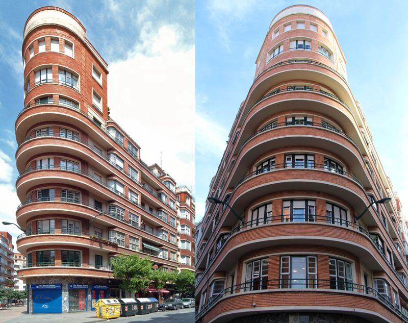Ercilla 43, Bilbao Art Decó aerodinámico