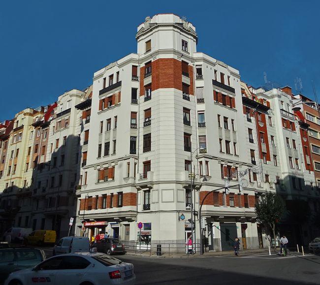 Gordóniz Kalea 50 y 52 Bilbao Art Decó