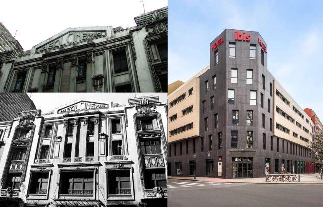 Ideal Cinema de Bilbao y su sustituto