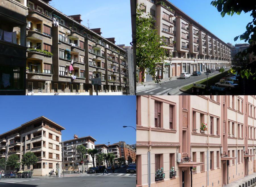 Viviendas municipales de Torre Madariaga, Bilbao Art Decó