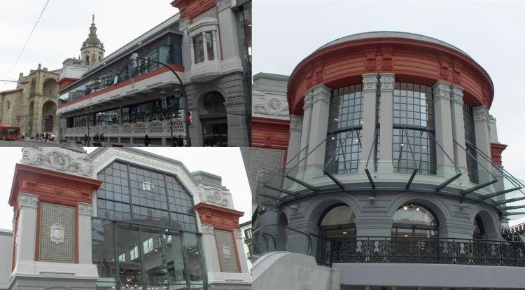 Mercado de la Ribera Bilbao Art Decó
