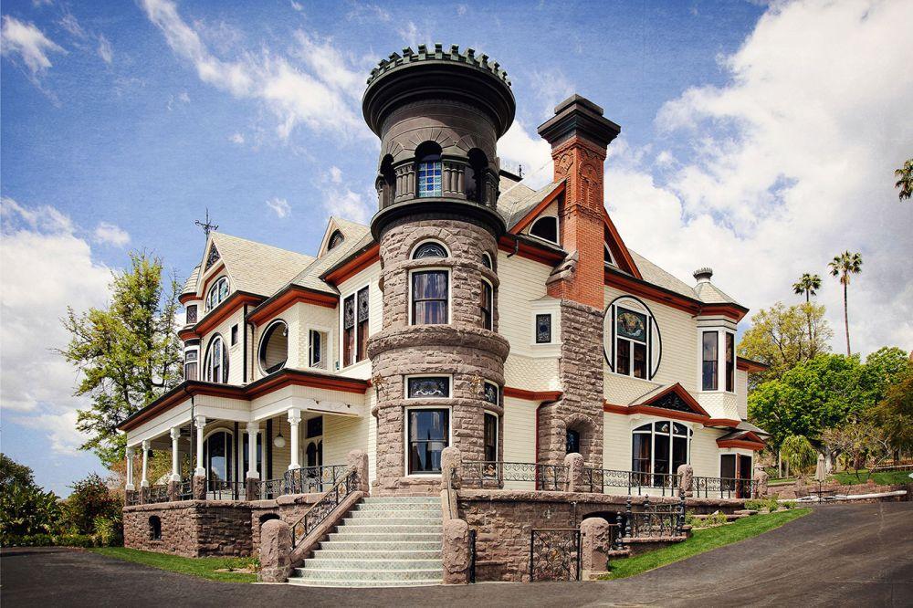 Newhall Mansion en la actualidad (foto: de la web del mismo nombre, como todas las de esta pequeña galería).