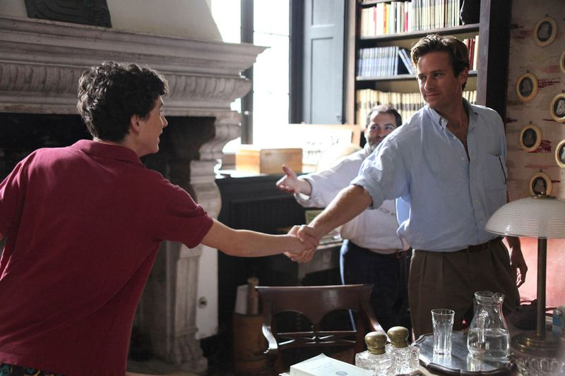 Call Me By Your Name Elio y Oliver