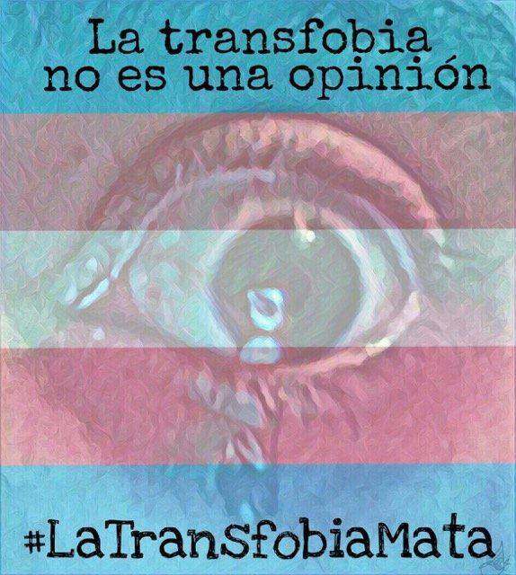 transgénero transfobia no es opinión