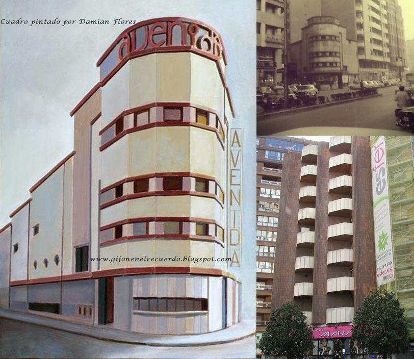 Gijón Art Decó Cine Avenida