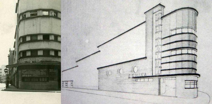Arquitectura aerodinámica en el Gijón Art Decó