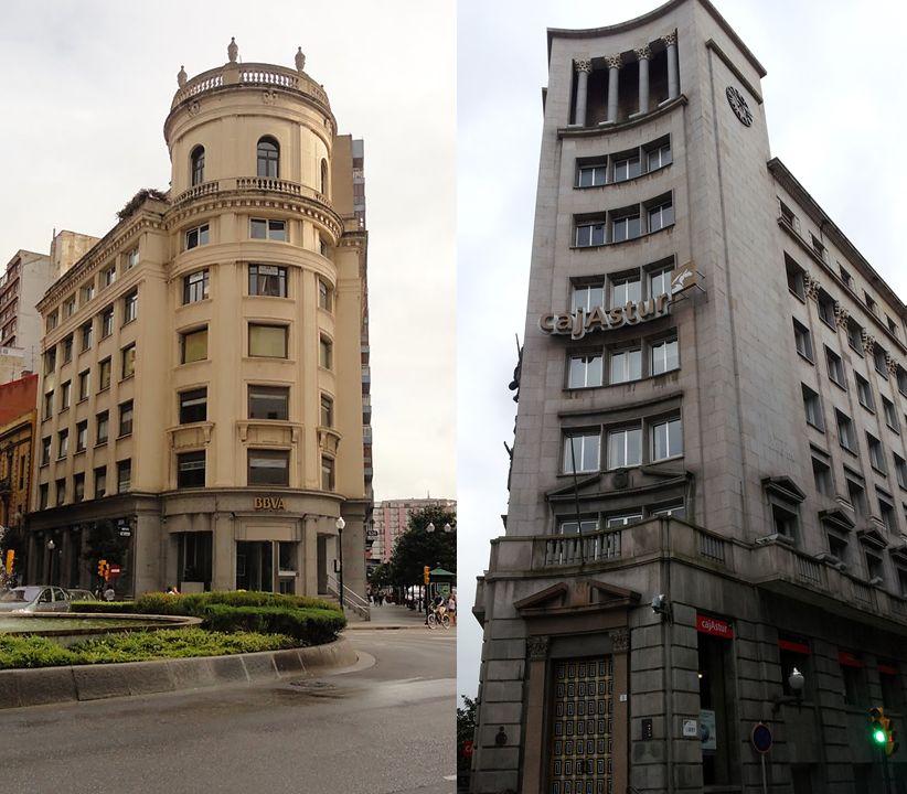 Gijón Art Decó Plaza del Carmen