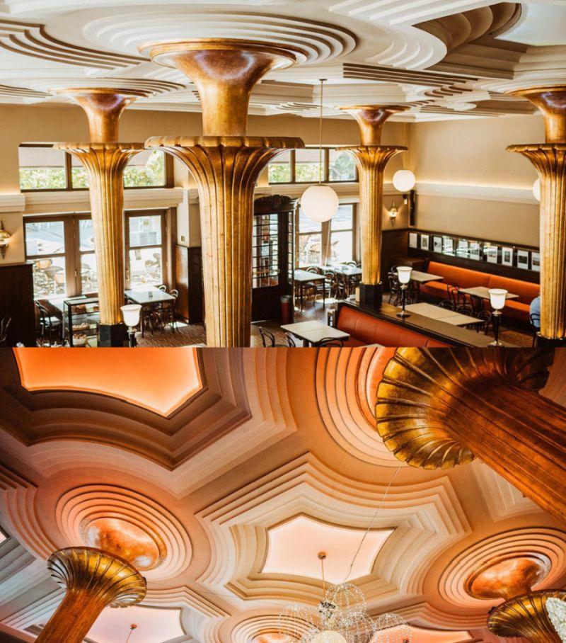 Café Dindurra, destacado Gijón Art Decó