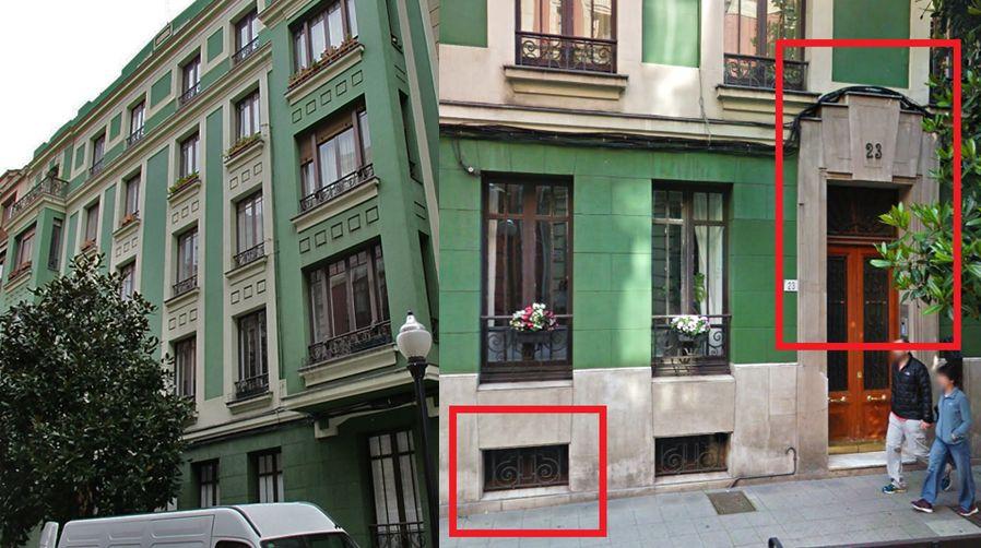Calle Capua 23 es Gijón Art Decó