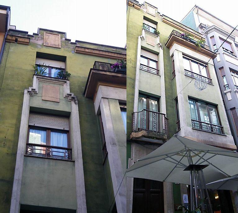 Calle Salustio Regueral, 7 (a unos 80 metros del edificio anterior)