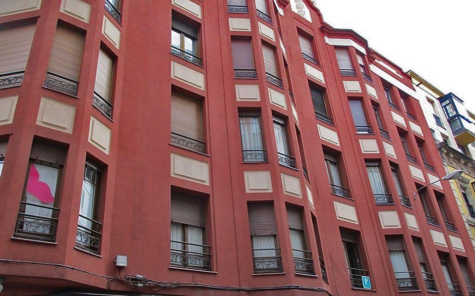 Casimiro Velasco 18 es Gijón Art Decó Zigzag Moderne