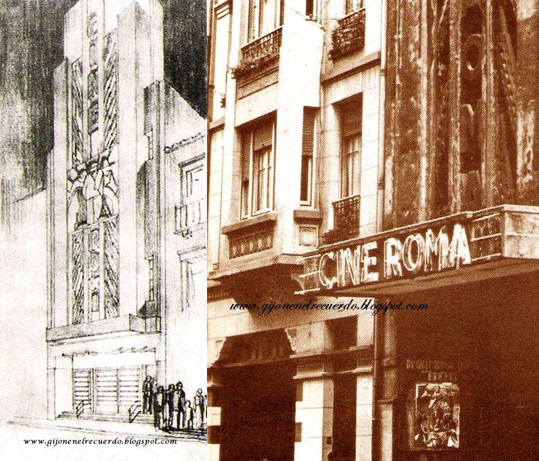 Cine Roxy/Cine Roma (calle de los Moros)