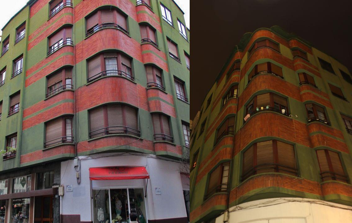 Gijón Art Decó aerodinámico en la calle Menén Pérez 4