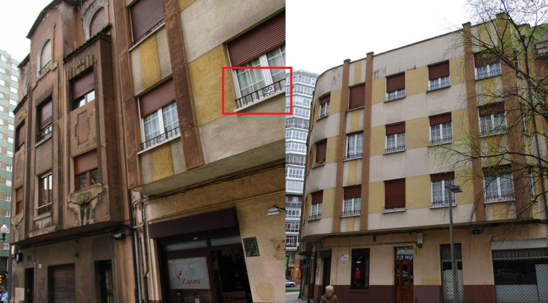 Gijón Art Decó: Plaza Europa 19 y 20
