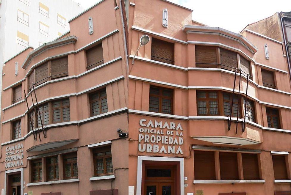 Cámara Oficial de la Propiedad Urbana (calle Cabrales, 39)