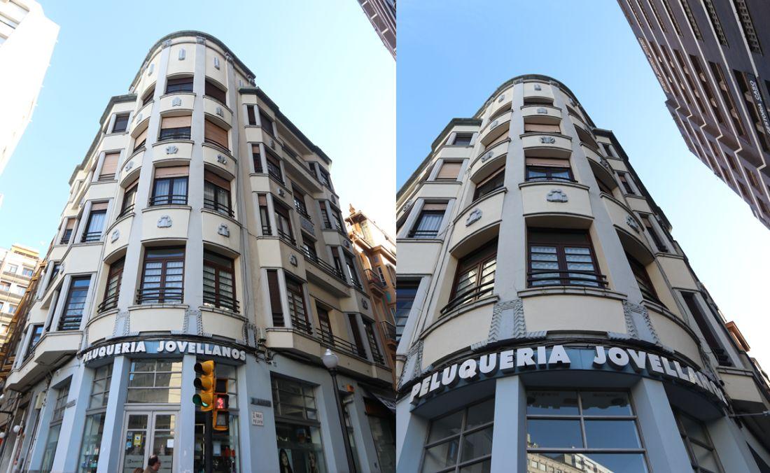 Gijón Art Decó en la calle Pelayo 1