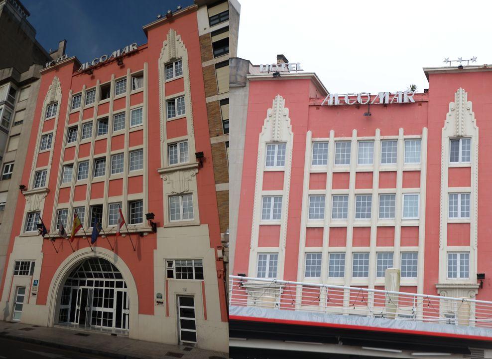 Hotel Alcomar/antigua Ferretería Vasco-Asturiana (calle Cabrales, 24)