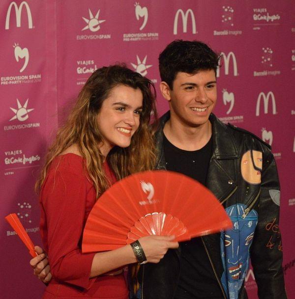 eurovisión 2018 amaia alfred
