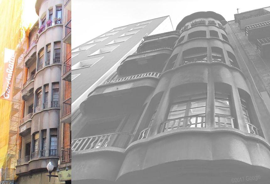 Art Decó de Gijón en San Bernardo 37 año 1942