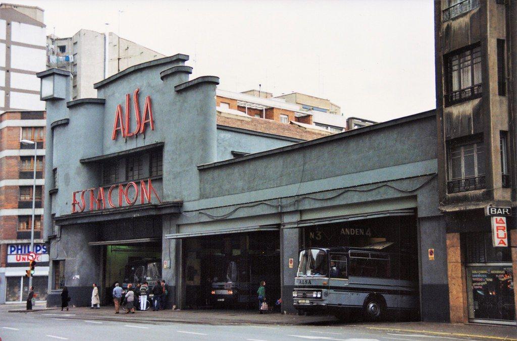 Art Decó racionalista en la estación ALSA de Gijón